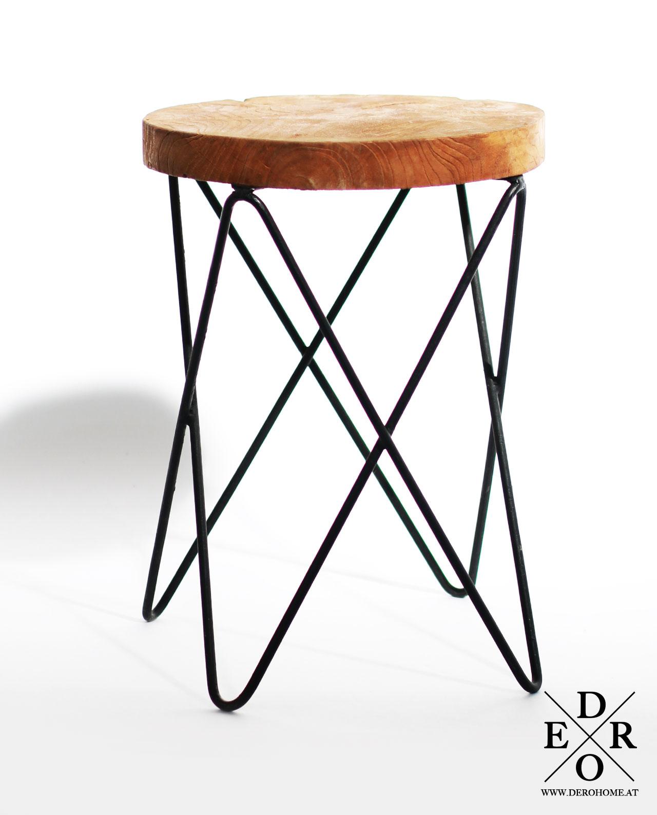 design hocker beistelltisch montr al derohome at. Black Bedroom Furniture Sets. Home Design Ideas