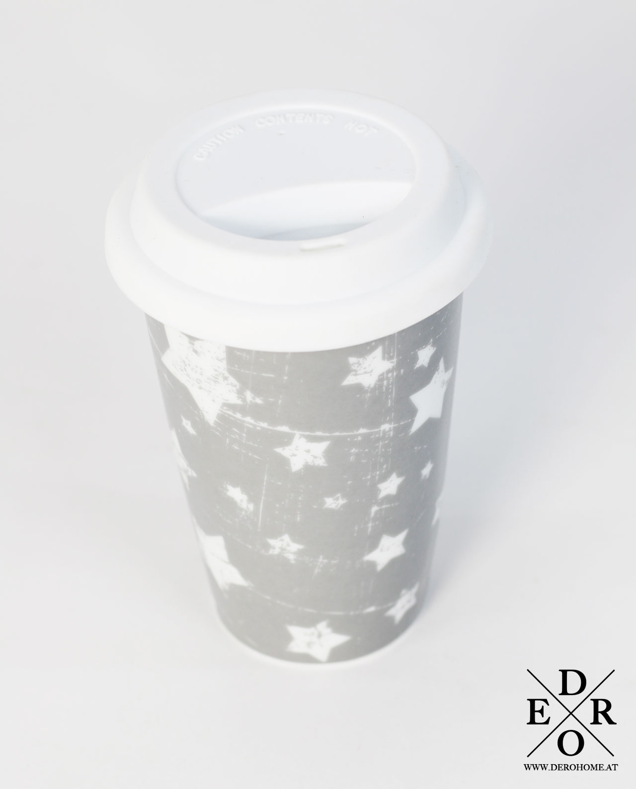 kaffee teebecher coffee to go small star derohome at. Black Bedroom Furniture Sets. Home Design Ideas