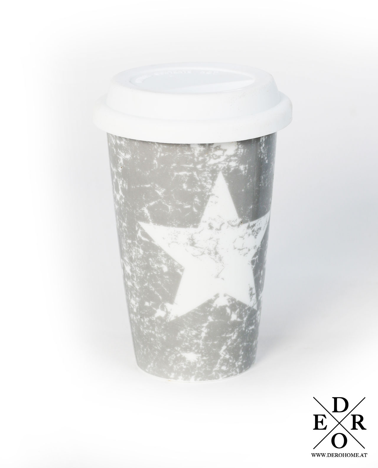 kaffee teebecher coffee to go white star derohome at. Black Bedroom Furniture Sets. Home Design Ideas